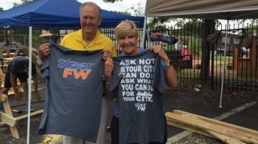Screen Printed Shirts for Rogue Architects in Fort Worth Were A Big Hit